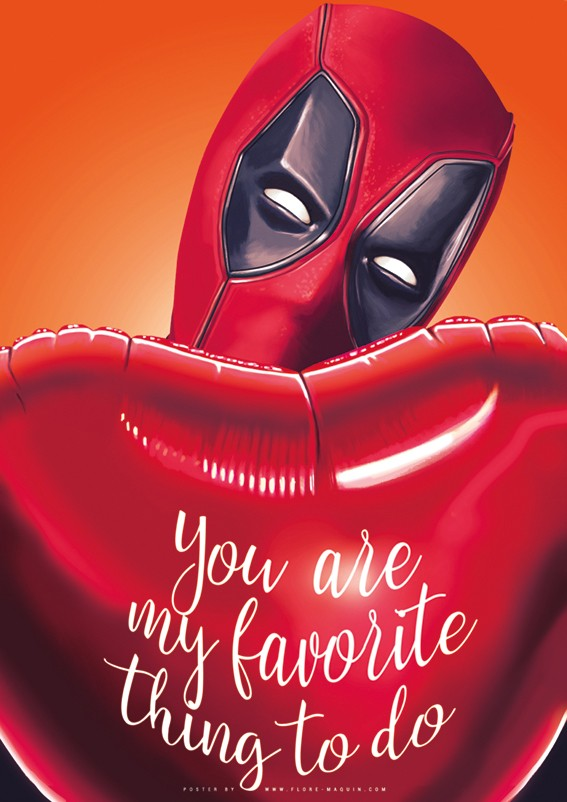 Deadpool Valentine's Day